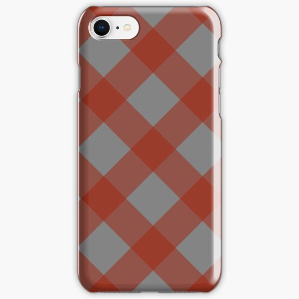 Izlet (Red/Gray) iPhone Snap Case