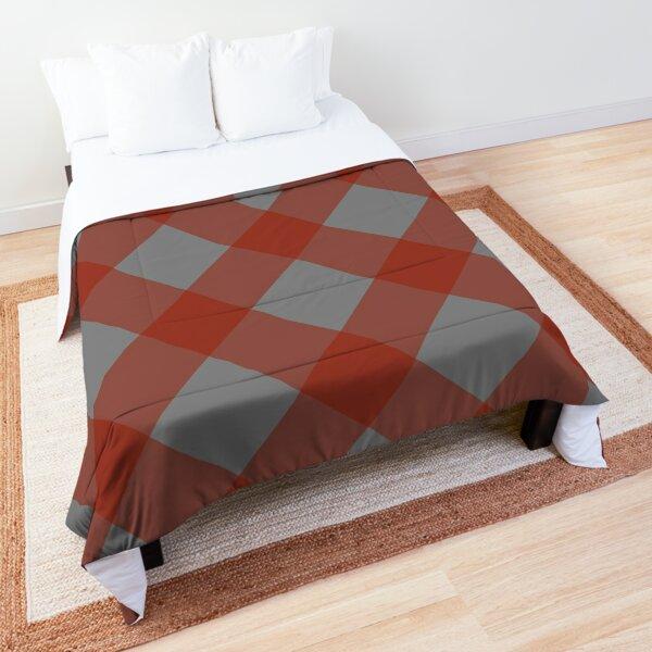 Izlet (Red/Gray) Comforter