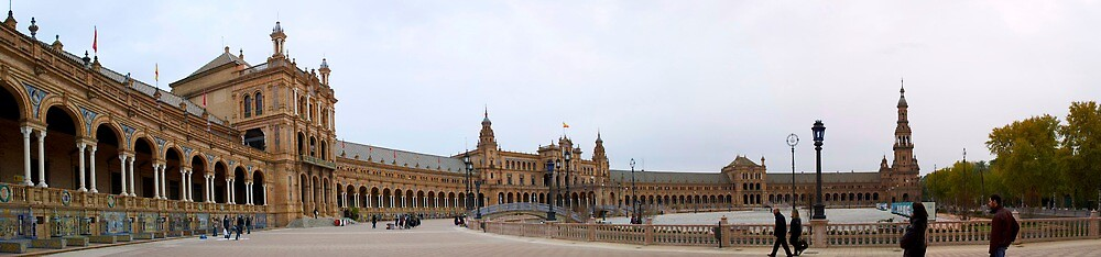 plaza de españa by Xavier Provencher