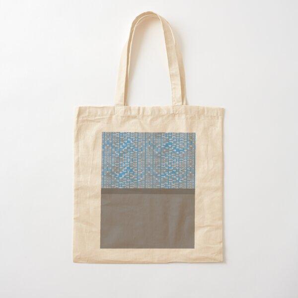 Guja (Blue) Cotton Tote Bag