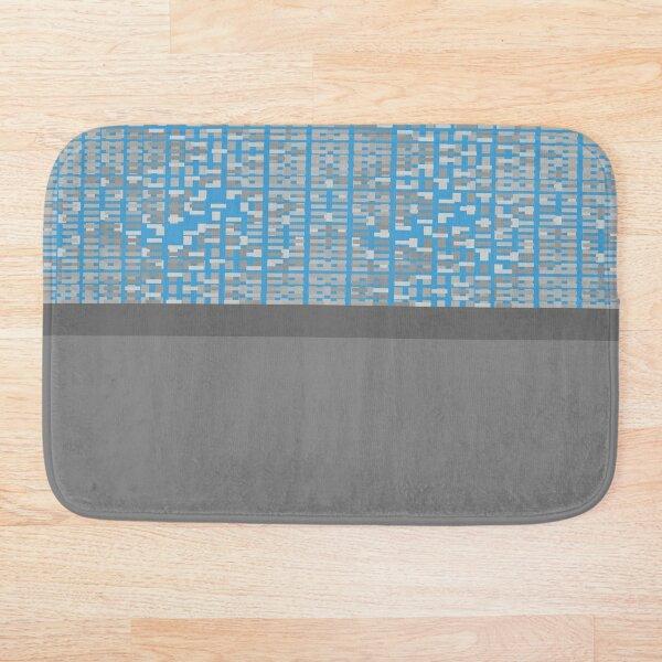 Guja (Blue) Bath Mat