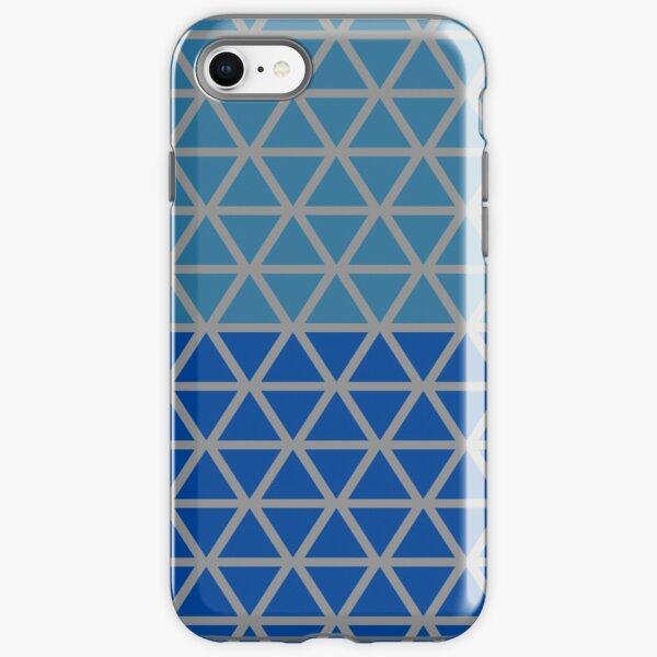 Trokut (Blues) iPhone Tough Case