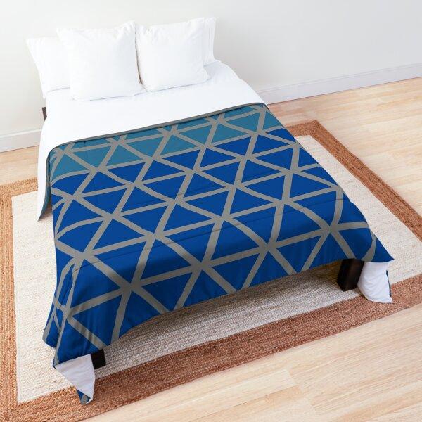 Trokut (Blues) Comforter