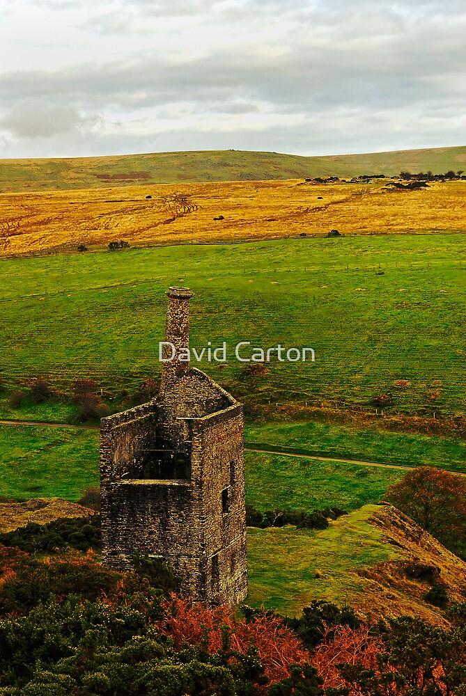 Wheal Betsy Mine, Dartmoor, Devon, UK  by David Carton