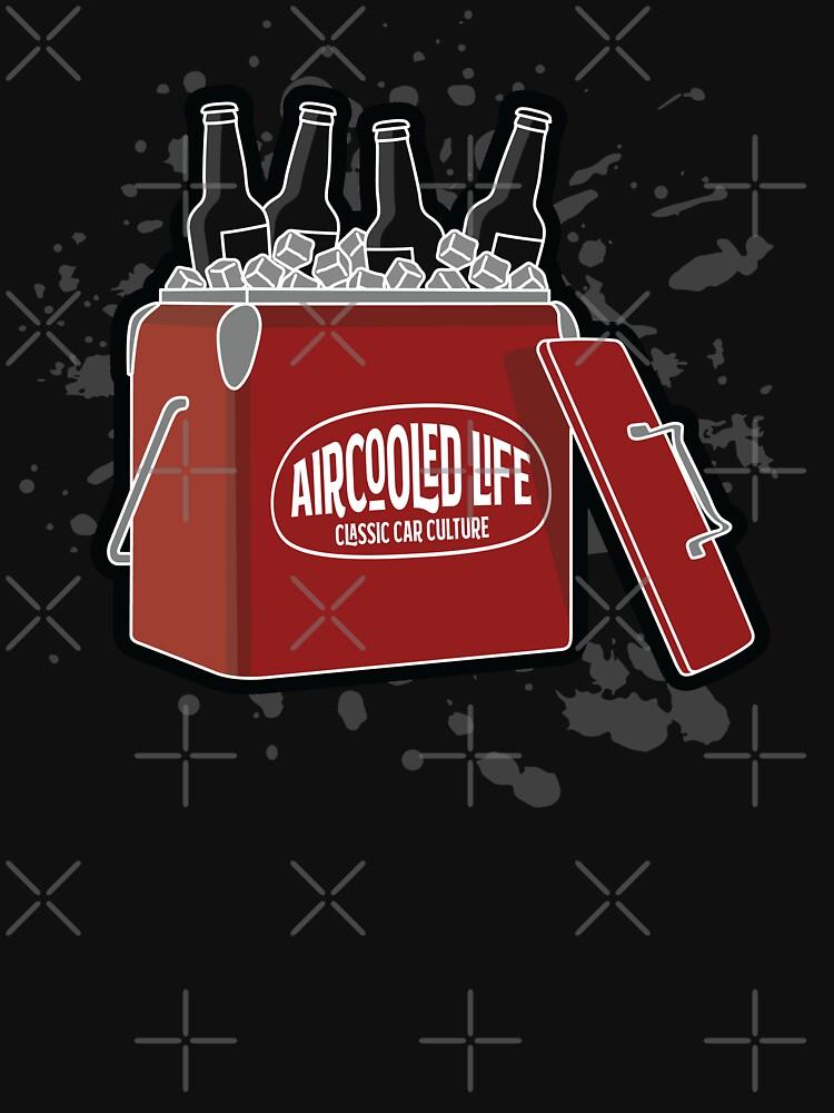 Aircooled Life Cool Box Beer Design by Joemungus