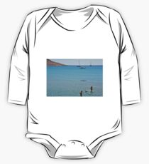 Swimming the dog One Piece - Long Sleeve