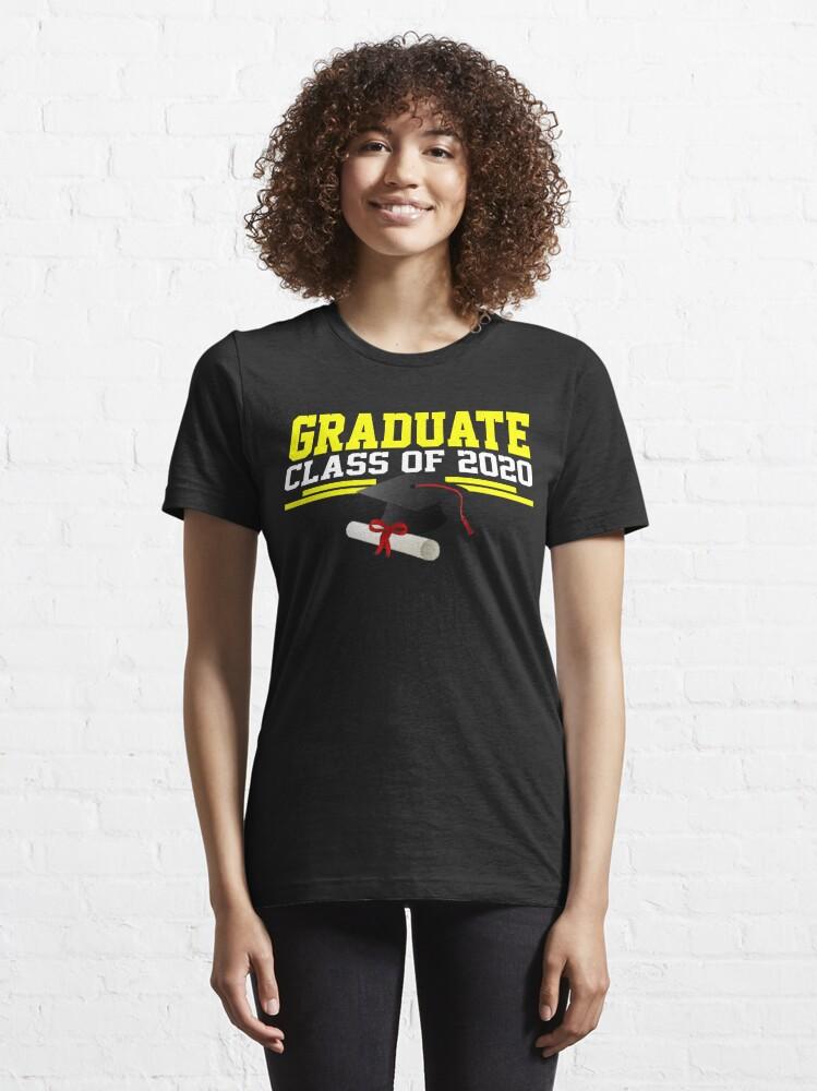 Alternate view of Graduate Class of 2020 Essential T-Shirt
