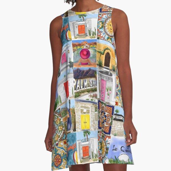 Palm Springs Talavera A-Line Dress