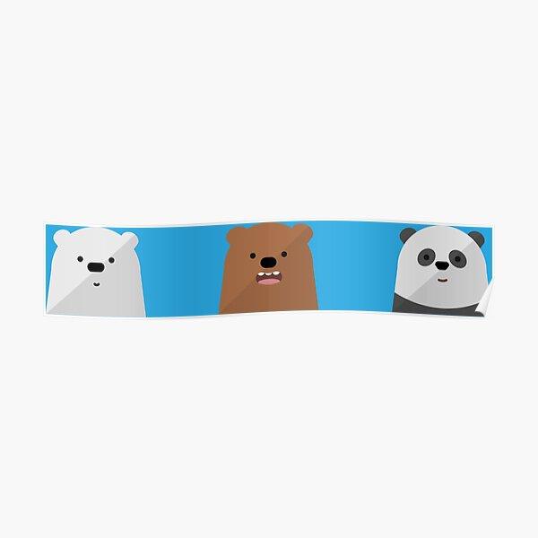 We Bare Bears Bros Poster