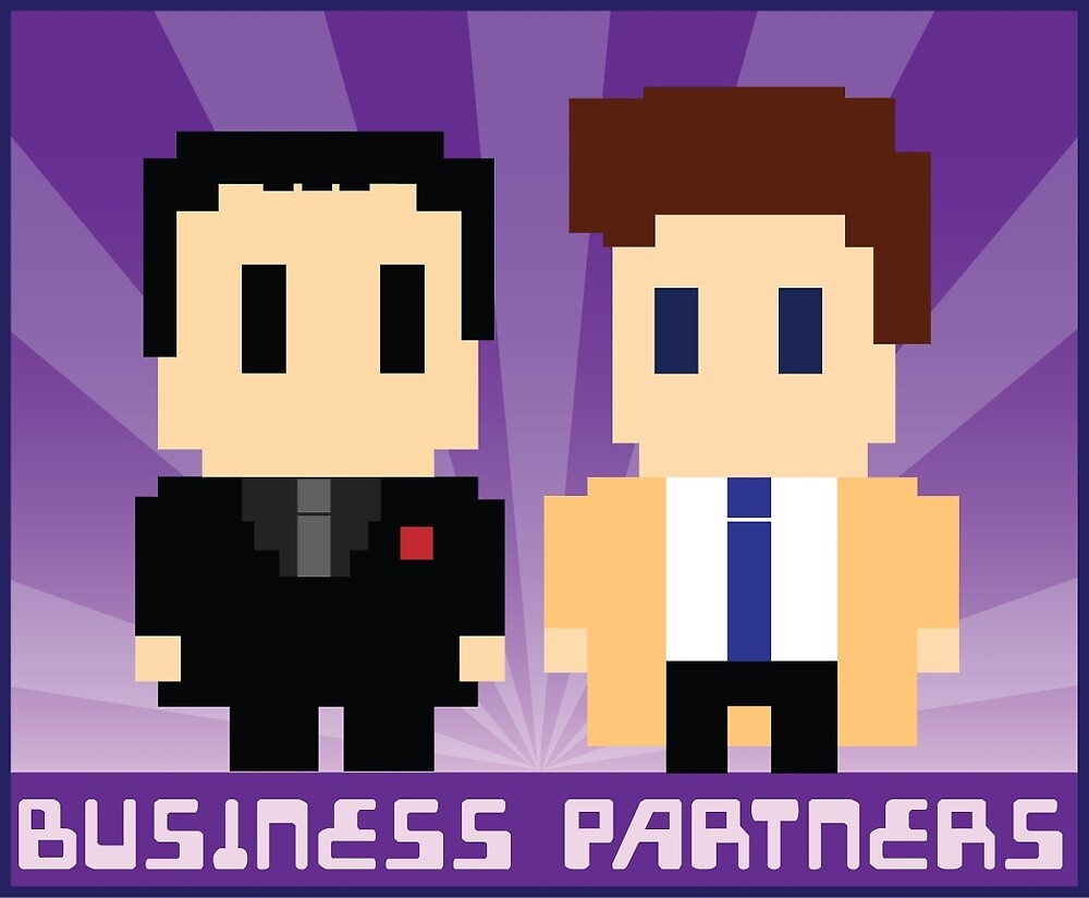 Business Partners by hellhoundpit