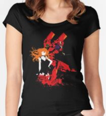Evangelion Unit-02 Women's Fitted Scoop T-Shirt