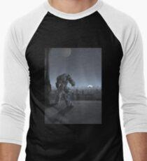 Future City - Robot Sentinel at Moon Rise T-Shirt