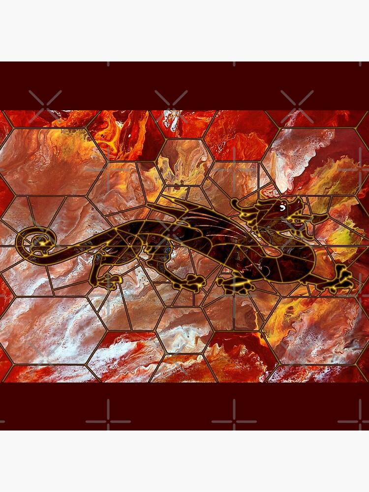 Dragon on Glass by kerravonsen