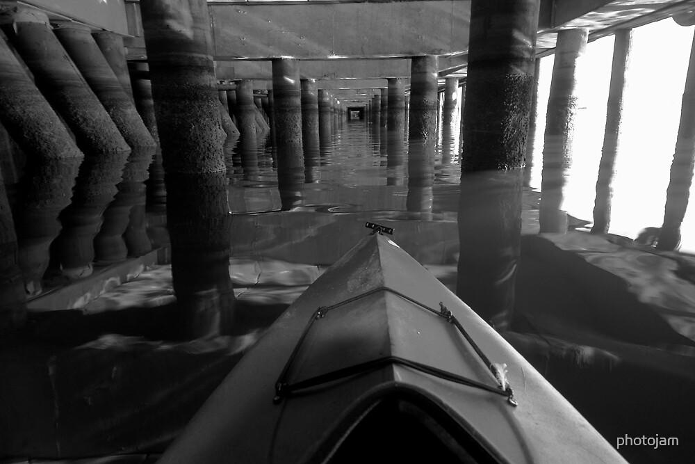 under the piers by photojam