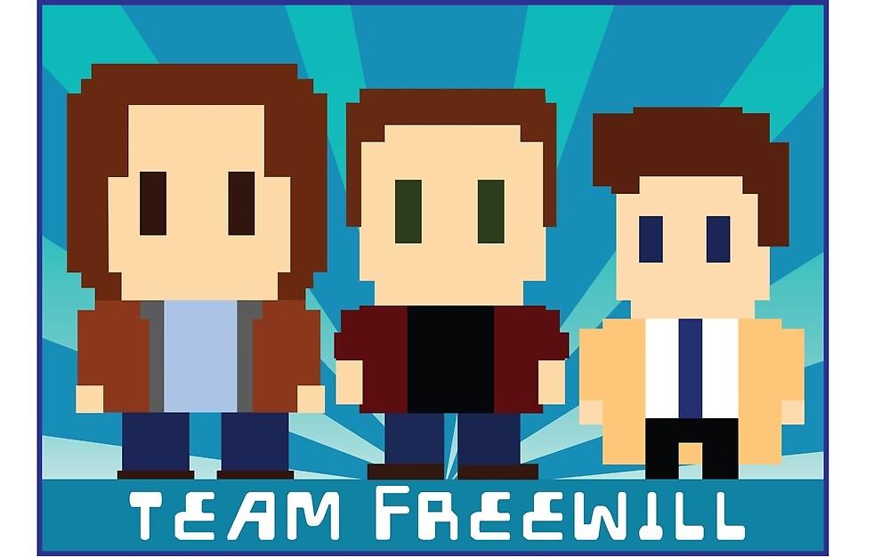 Team Freewill by hellhoundpit