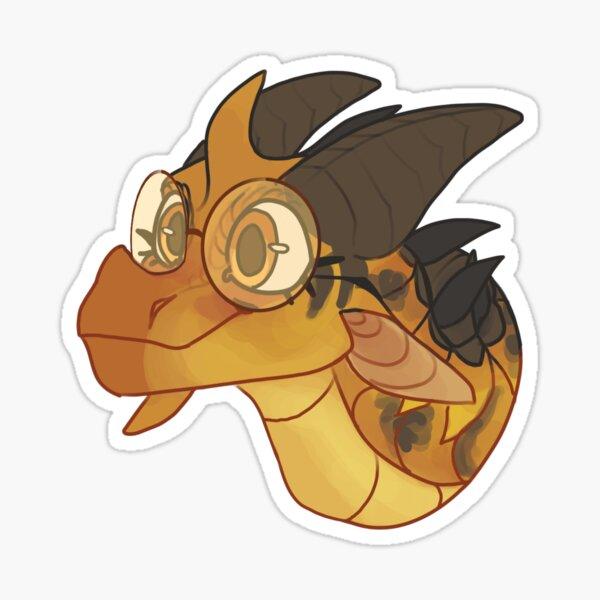 Cricket Wings of Fire Sticker