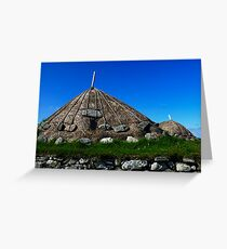Thatched Rooves Greeting Card
