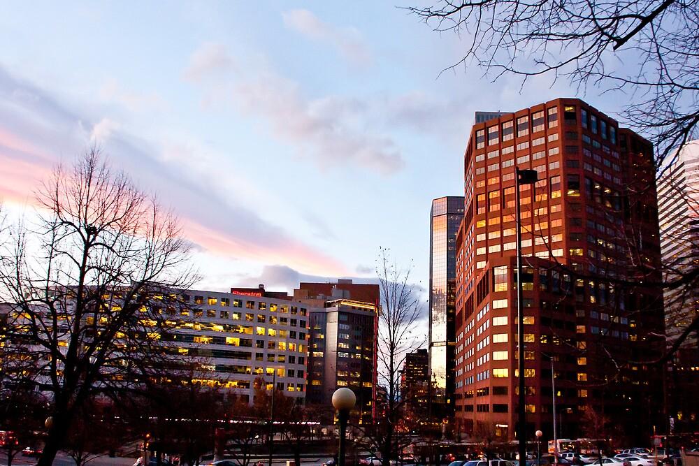 Downtown Denver by pandapix