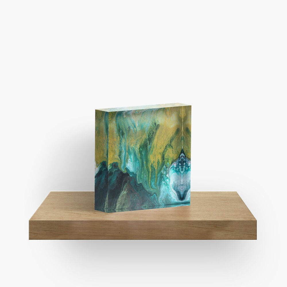 Land of Shadows Acrylic Block