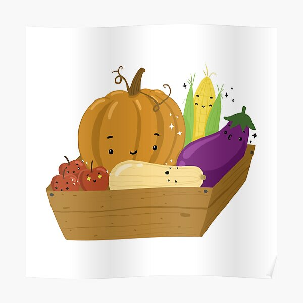 Fall Produce Poster