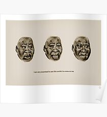 Surprised faces of Guy Goma Poster