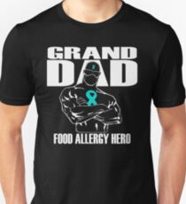 GRAND DAD Food Allergy Hero T-Shirt