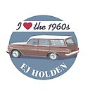 EJ Holden - I love the 1960s by contourcreative