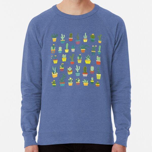 Succulents Lightweight Sweatshirt