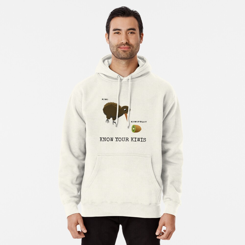 Know Your Kiwis  Pullover Hoodie