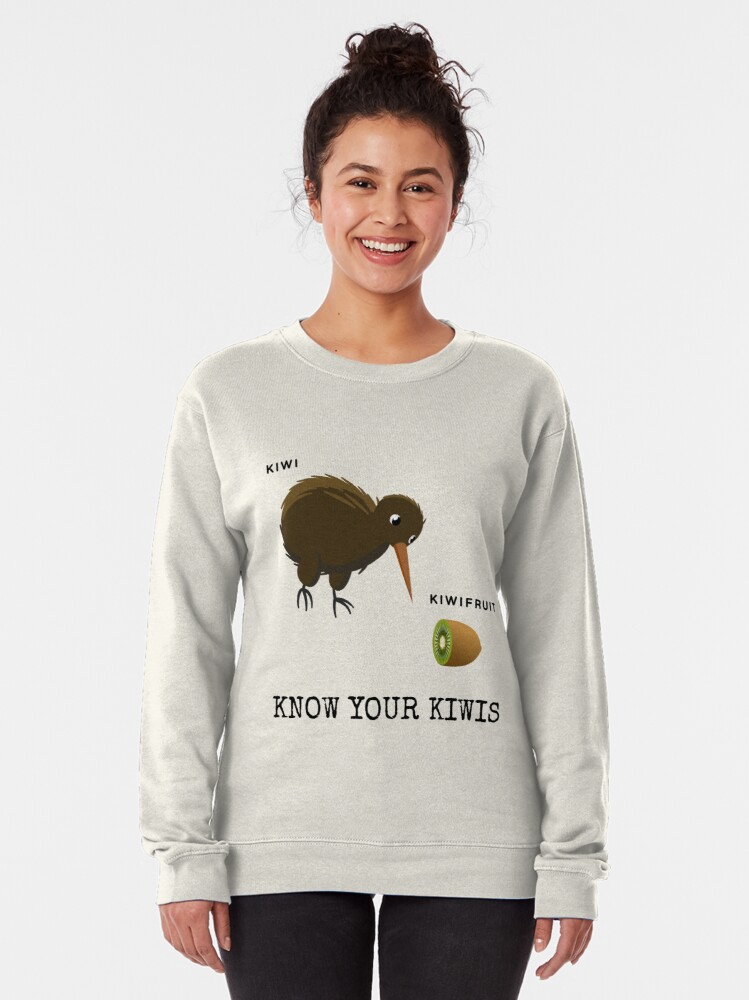 Alternate view of Know Your Kiwis  Pullover Sweatshirt