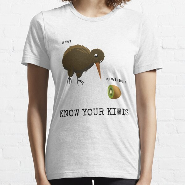 Know Your Kiwis  Essential T-Shirt