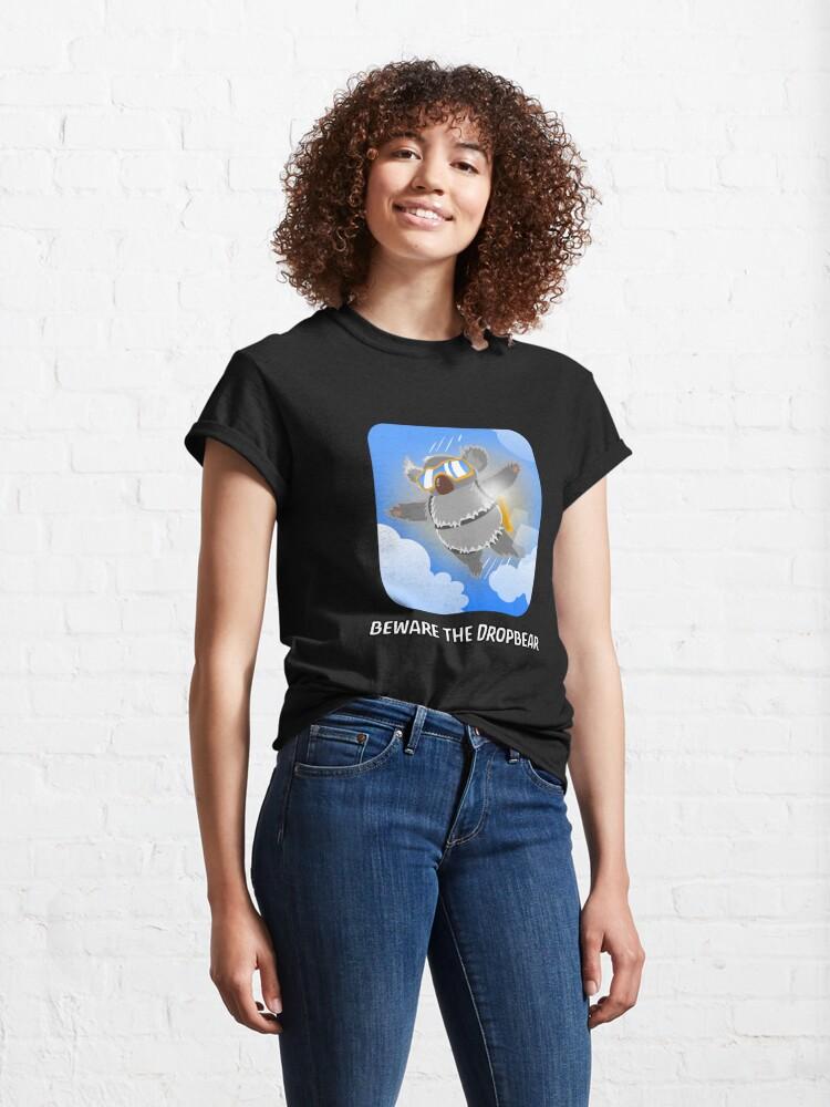 Alternate view of Aussie Drop Bear Classic T-Shirt