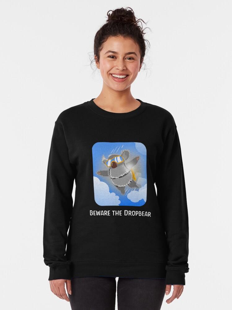Alternate view of Aussie Drop Bear Pullover Sweatshirt