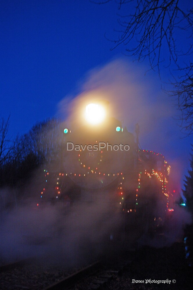 Steaming to the Pole by DavesPhoto