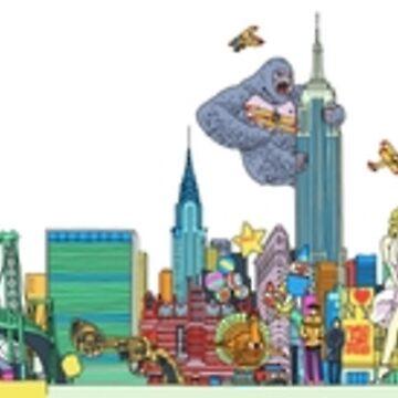 New York City by rossmurray