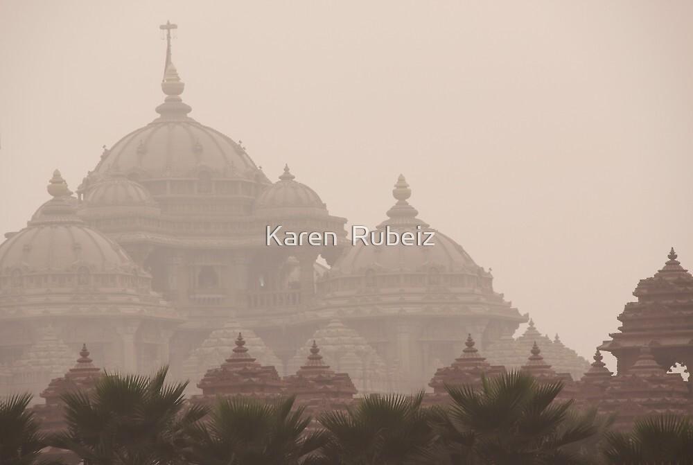 Temple by Karen  Rubeiz