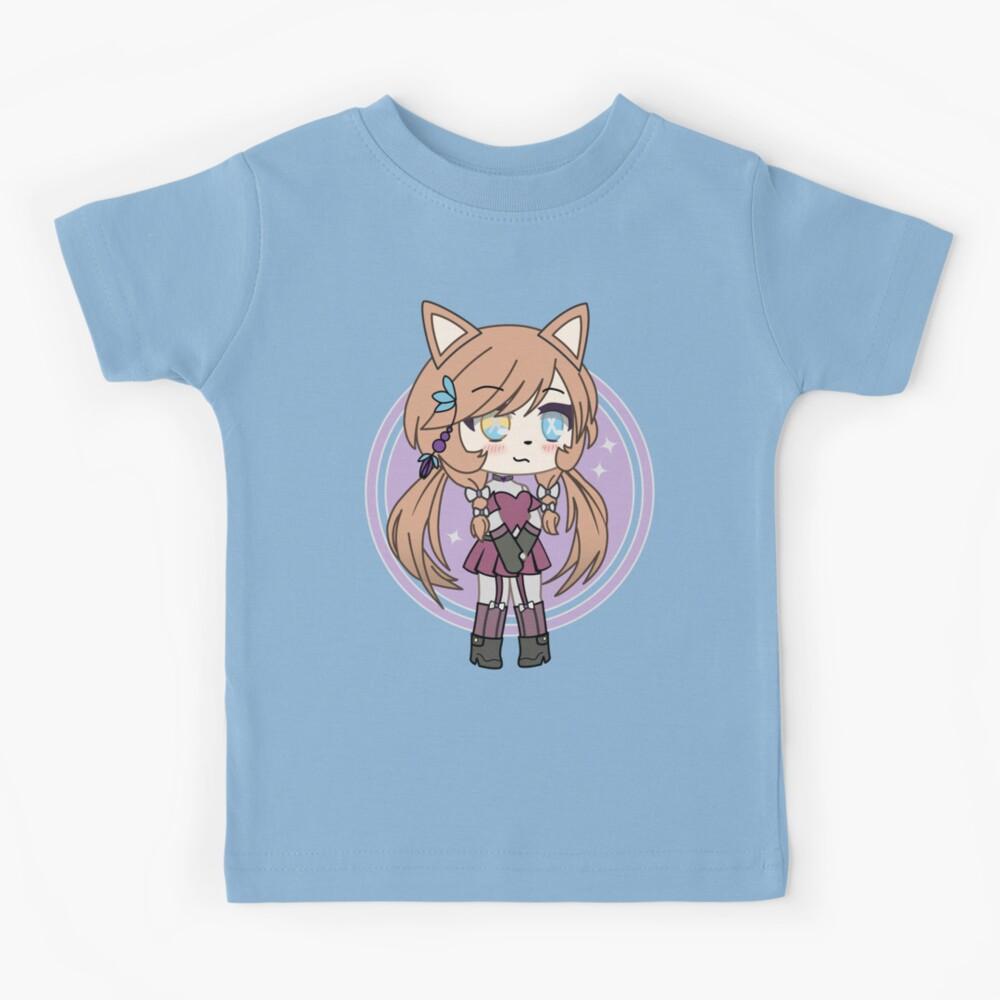 Cute Gacha Girl Foxy Chan Kids T-Shirt
