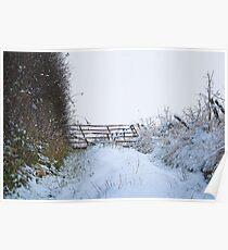 Snow Gate Poster