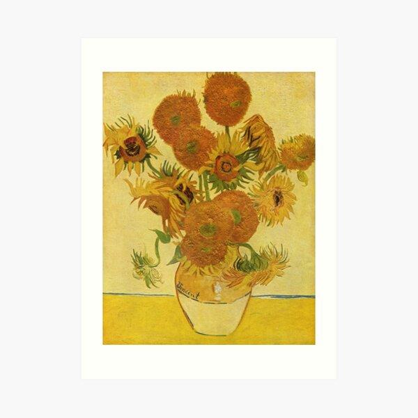 Sunflowers (Vincent Van Gogh) Art Print