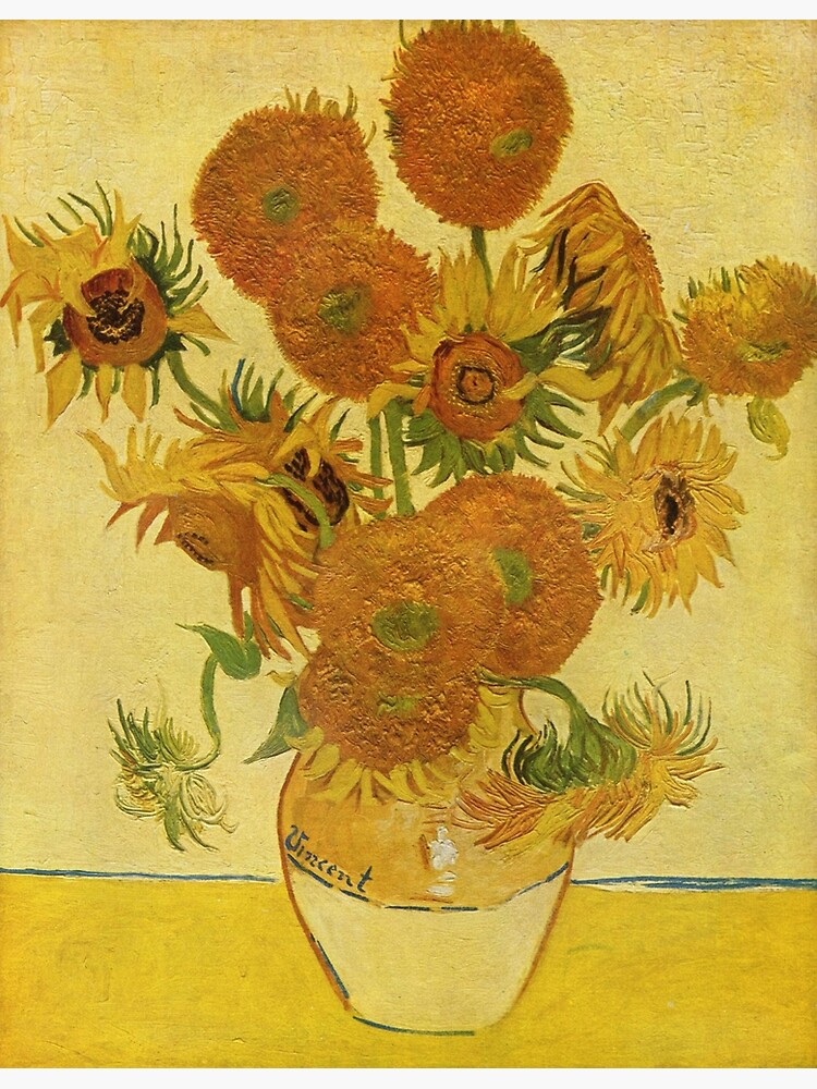 Sunflowers (Vincent Van Gogh) by famousartists