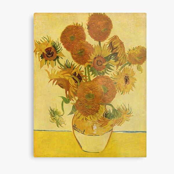 Sunflowers (Vincent Van Gogh) Metal Print