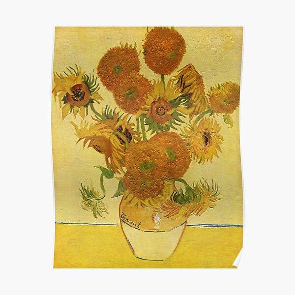 Sunflowers (Vincent Van Gogh) Poster