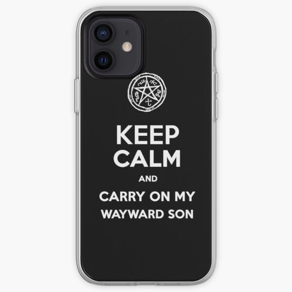 Keep Calm - Devil's Trap iPhone Soft Case