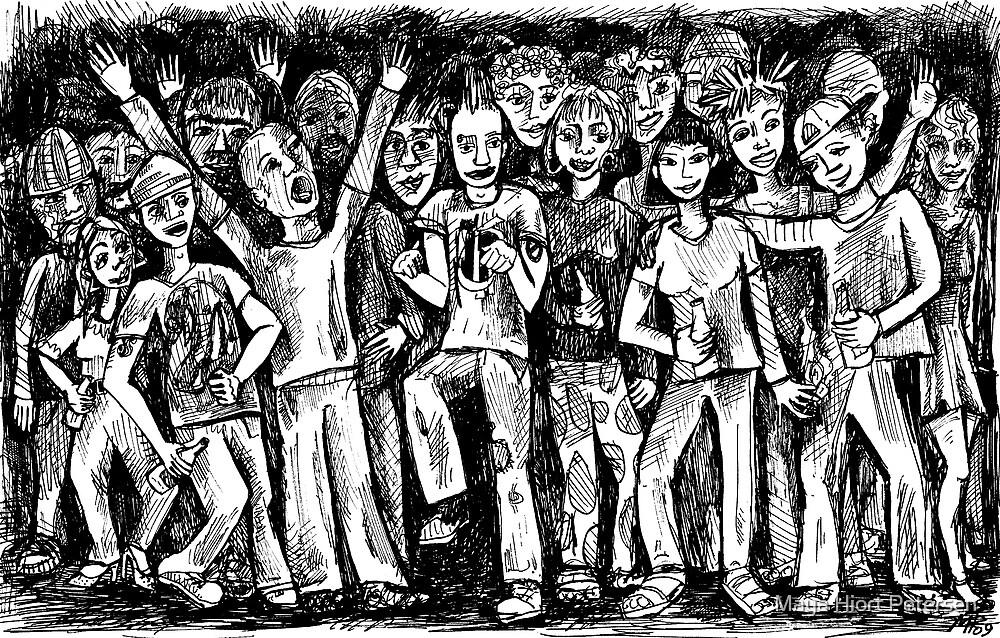 Multi Kulti  by Maya Hiort Petersen