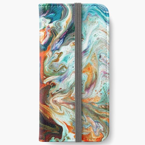 Fire And Water iPhone Wallet