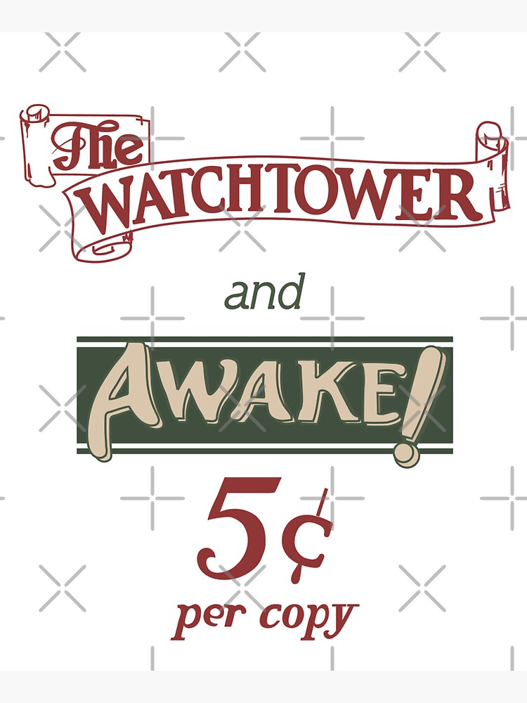 Watchtower and Awake Design by CreativeContour