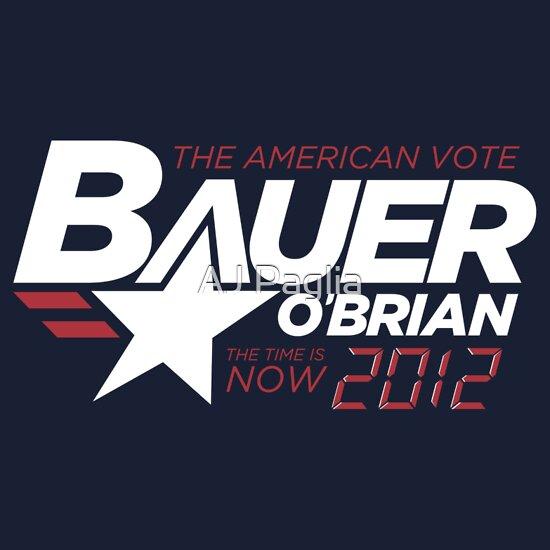TShirtGifter presents: Vote Jack Bauer in 2012