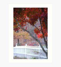 New Enland Fall Art Print