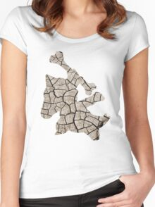Marowak used earthquake Women's Fitted Scoop T-Shirt