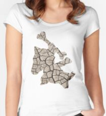 Marowak used earthquake Women's Fitted Scoop T-Shirt